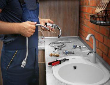 wymiana podlączenie montaż zlewu zlewozmywaka umywalki syfonu gdynia sopot gdańsk